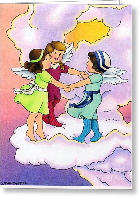 Rejoice Greeting Card by Sarah Batalka