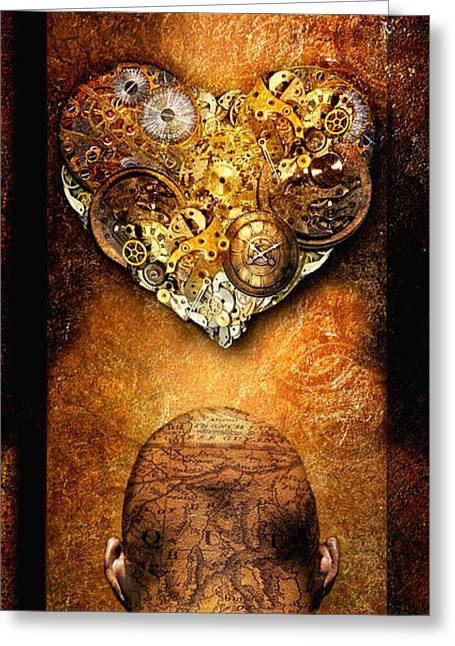 Hart Greeting Cards - Relate Greeting Card by Photodream Art