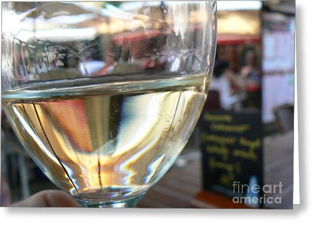 Wine Legs Greeting Cards - Relax and Celebrate Greeting Card by France  Art