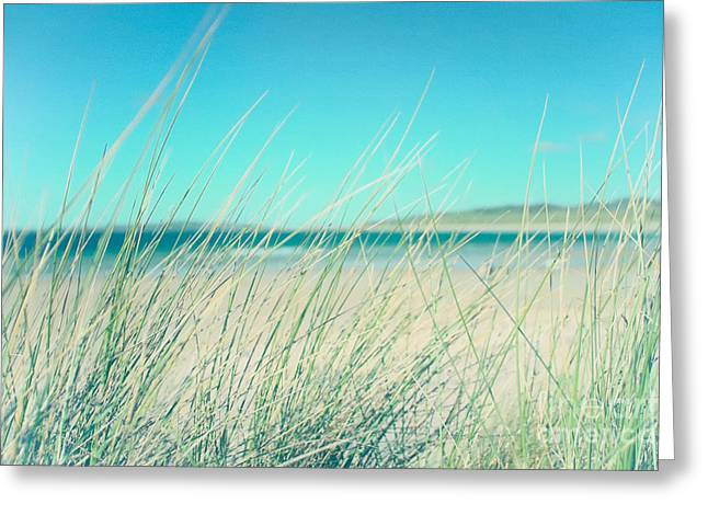 Beach Photograph Digital Art Greeting Cards - Relax at the Seaside Greeting Card by Natalie Kinnear