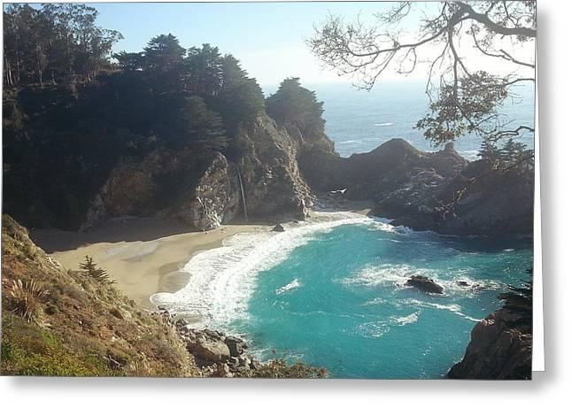 Pfeiffer Beach Greeting Cards - Relax Greeting Card by Garrett  Gallivanter