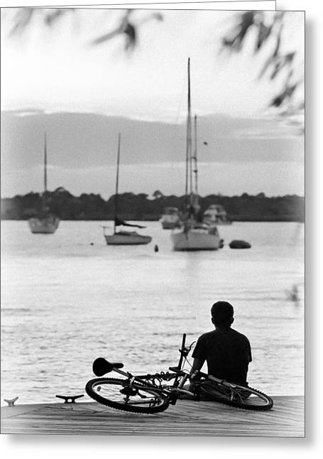 Martin County Greeting Cards - Relax Greeting Card by Patrick M Lynch