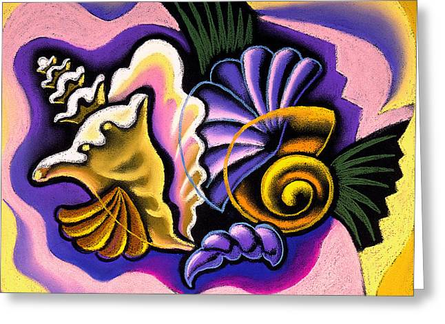 Collects Paintings Greeting Cards - Relaxation Greeting Card by Leon Zernitsky