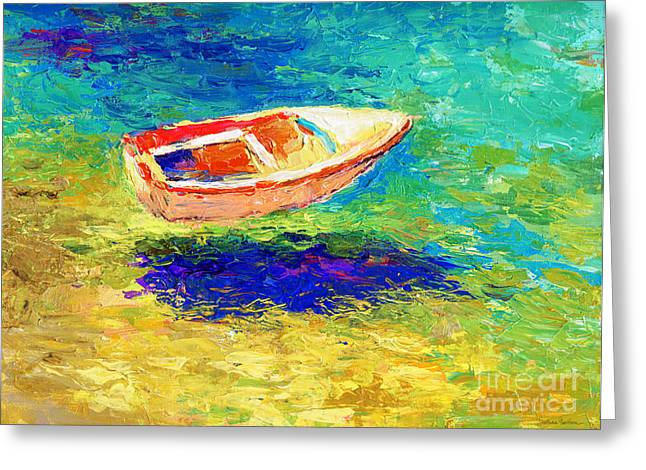 Boats In Water Greeting Cards - Relaxing getaway Greeting Card by Svetlana Novikova