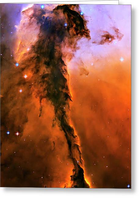 Colorful Photography Greeting Cards - Release - Eagle Nebula 1 Greeting Card by The  Vault - Jennifer Rondinelli Reilly