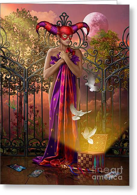 Woman Framed Prints Greeting Cards - Release Variant I Greeting Card by Ciro Marchetti
