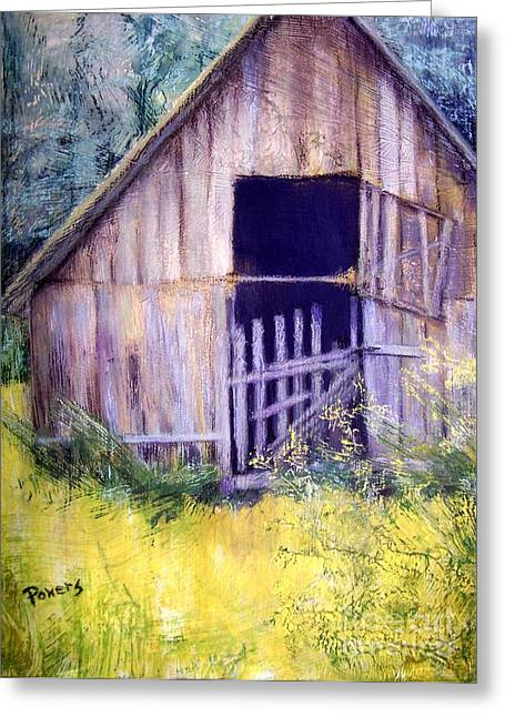 Ruins Pastels Greeting Cards - Relic Greeting Card by Mary Lynne Powers
