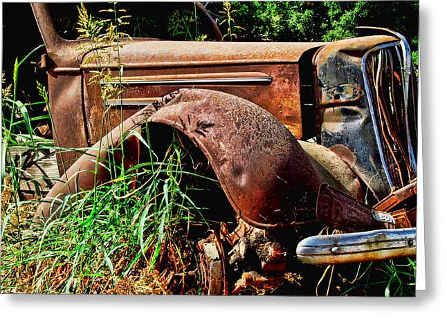 Ron Roberts Photography Greeting Cards - Relic Greeting Card by Ron Roberts