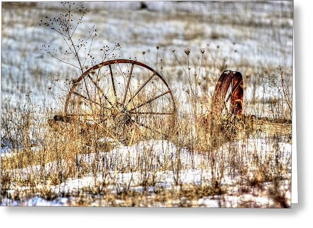 Wagon Greeting Cards - Relic Greeting Card by Thomas Danilovich