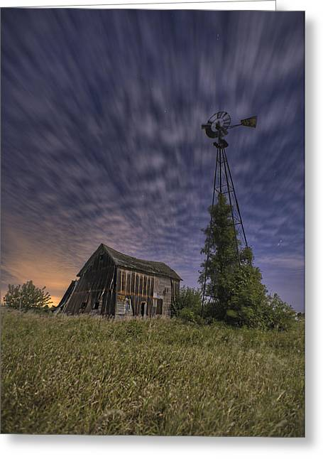 Shed Greeting Cards - Relics of Livingston County Greeting Card by Tom Phelan