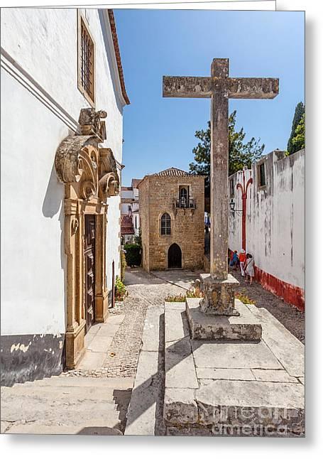 Church Synagogue Greeting Cards - Religious Tolerance Greeting Card by Jose Elias - Sofia Pereira
