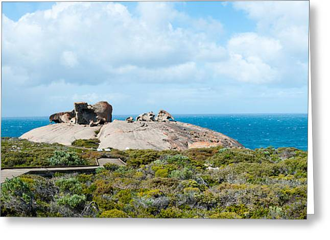 Ocean Photography Greeting Cards - Remarkable Rocks On The Coast, Flinders Greeting Card by Panoramic Images