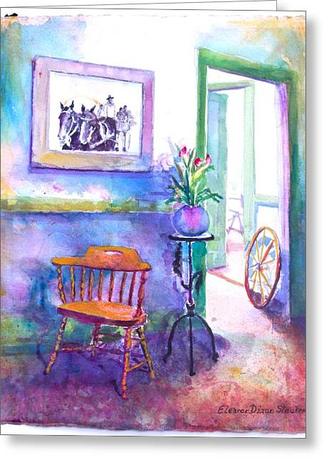 Remberence  Greeting Card by Eleanor  Dixon Stecker