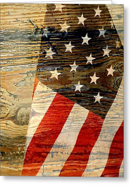 Fallen Soldiers Greeting Cards - Remember Greeting Card by Diana Angstadt