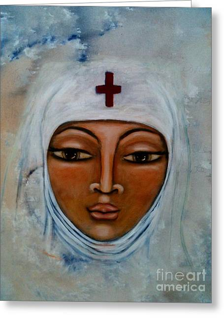 Warrior Goddess Greeting Cards - Remember Greeting Card by Maya Telford