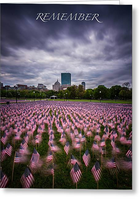 Recently Sold -  - 4th July Greeting Cards - Remember Greeting Card by Paul Treseler