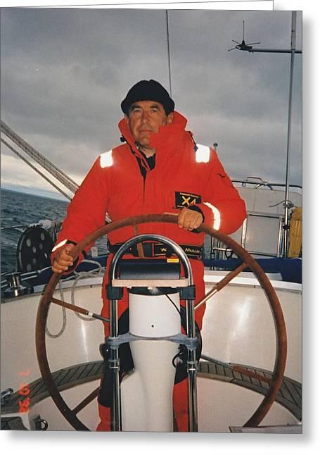Sailing Ship Greeting Cards - Rememberance Greeting Card by Gun Legler