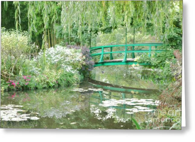 Diffusion Greeting Cards - Remembering Monet  Greeting Card by Olivier Le Queinec