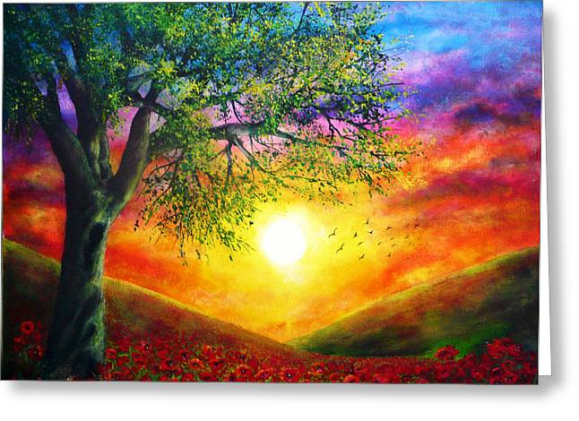 Kinkade Greeting Cards - Remembrance Greeting Card by Ann Marie Bone