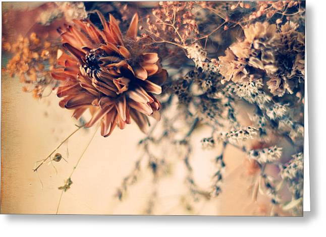 Texture Overlay Greeting Cards - Remembrance Greeting Card by Jessica Jenney