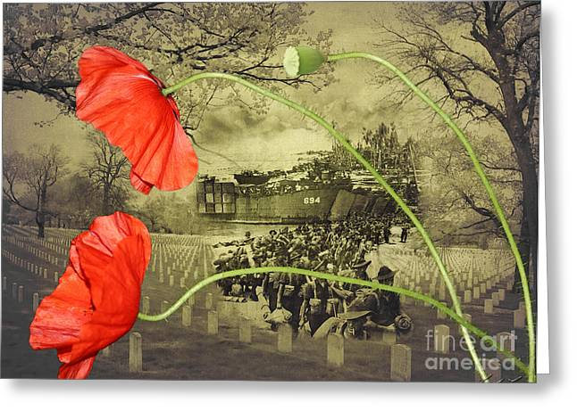 Narrative Greeting Cards - Remembrance Greeting Card by Linda Lees