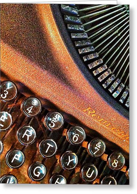 Remington Greeting Cards - Remette Greeting Card by Olivier Calas