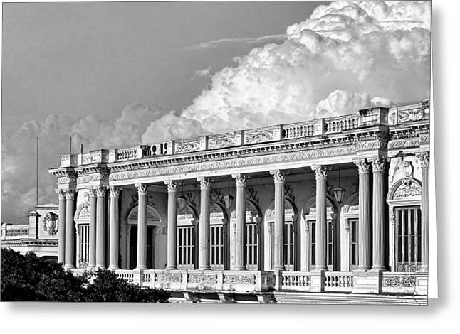 Cuba Greeting Cards - Remnant of a Colonial Past Greeting Card by Dawn Currie