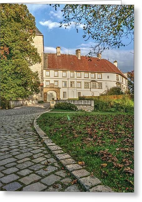 Deutschland Greeting Cards - Renaissance Building Greeting Card by Mickey At Rawshutterbug