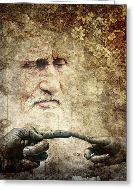 Mind Of God Greeting Cards - Renaissance Greeting Card by Daniel Hagerman
