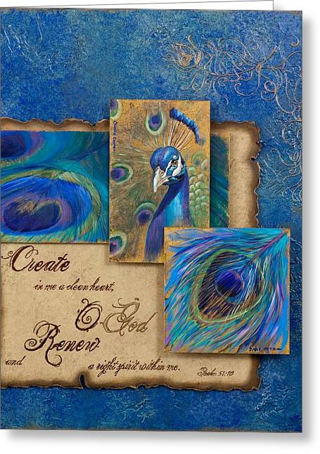 Gateway Church Greeting Cards - Renewal Greeting Card by Chris Brandley  Charice Cooper   Jane Metz