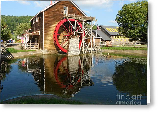 Renfro Greeting Cards - Renfro Valley  Mill Greeting Card by Mary Carol Story