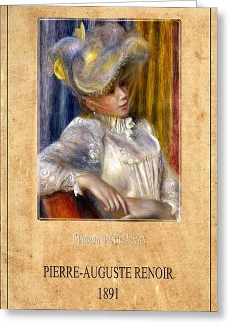 Renoir Greeting Cards - Renoir 1 Greeting Card by Andrew Fare