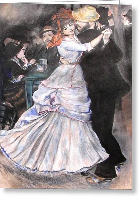 Renoir Pastels Greeting Cards - Renoir Greeting Card by Christine Maeda