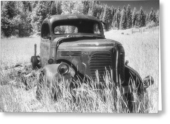 White Pine County Greeting Cards - REO Truck Greeting Card by Latah Trail Foundation