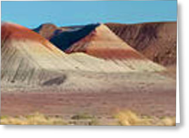 Paint Photograph Greeting Cards - Repainted Desert Greeting Card by Gregory Scott