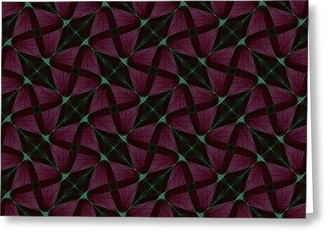 Eggleston Greeting Cards - Repeating Patterns 4 Greeting Card by Mark Eggleston