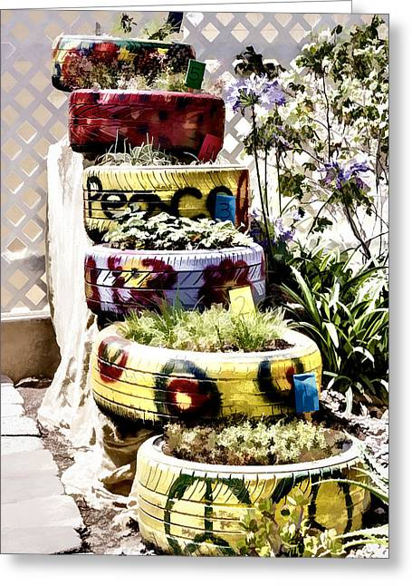 Repurposed Greeting Cards - Repurposed Greeting Card by Photographic Art by Russel Ray Photos
