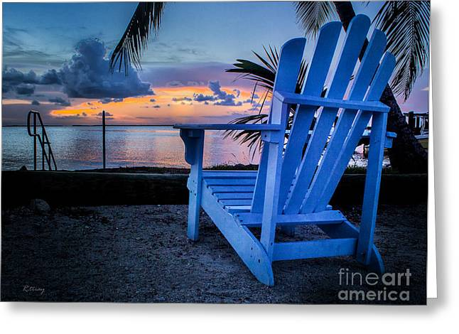 Isla Morada Greeting Cards - Reserved for You Greeting Card by Rene Triay Photography
