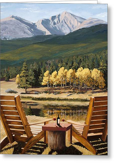 Rocky Mountain National Park Posters Greeting Cards - Reserved Greeting Card by Mary Giacomini