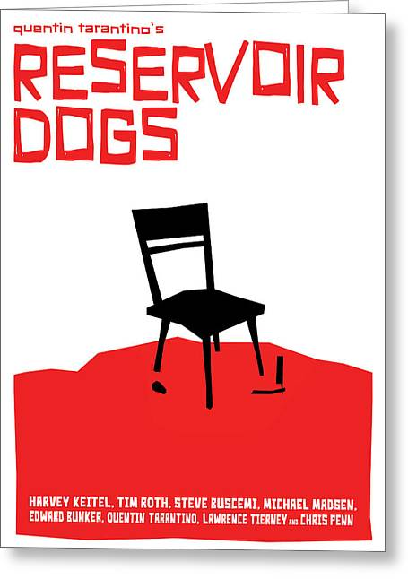 Reservoir Dogs Greeting Cards - Reservoir Dogs Poster Greeting Card by Geraldinez