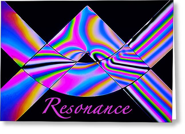 Polarized Greeting Cards - Resonance Greeting Card by Bill Caldwell -        ABeautifulSky Photography
