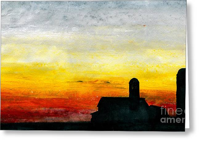 Family Time Pastels Greeting Cards - Rest for the Hard Working Greeting Card by R Kyllo