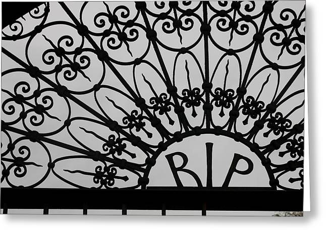 Rest In Peace Greeting Cards - Rest In Peace Greeting Card by Art Block Collections