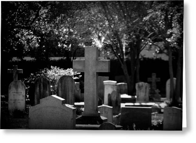 Charleston Sc Greeting Cards - Rest In Peace Greeting Card by Lisa Wooten