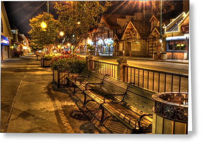 Gatlinburg Tennessee Greeting Cards - Rest Stop Greeting Card by Greg and Chrystal Mimbs