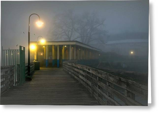 York Beach Greeting Cards - Resta Qui Greeting Card by Diana Angstadt