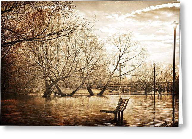 Lanscape Greeting Cards - Rested Waters  Greeting Card by Jerry Cordeiro