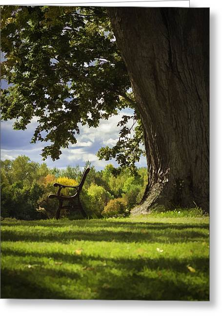 Resting Place Greeting Cards - Resting Place For Mind and Body Greeting Card by Thomas Young