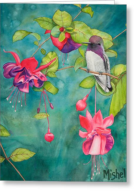 Silicon Valley Art Greeting Cards - Resting Place Greeting Card by Mishel Vanderten