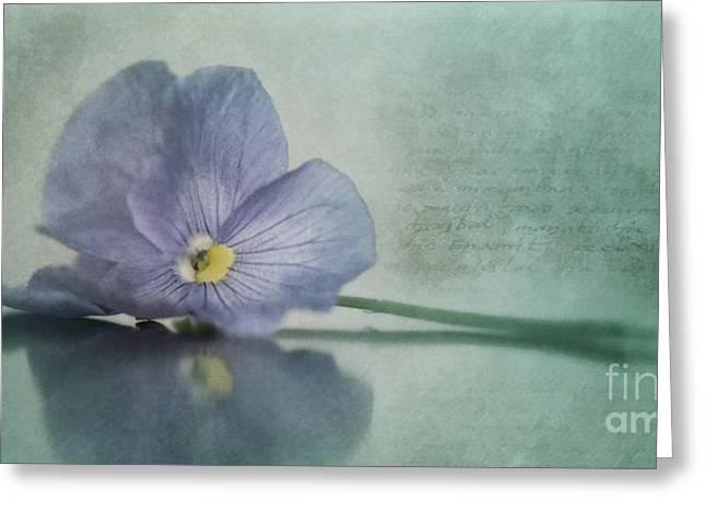 resting Greeting Card by Priska Wettstein